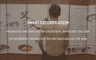 Sweat detoxification